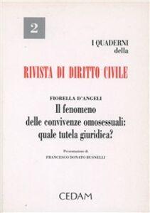 Libro Il fenomeno delle convivenze omosessuali: quale tutela giuridica? Fiorella D'Angeli