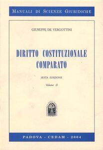 Libro Diritto costituzionale comparato. Vol. 2 Giuseppe De Vergottini