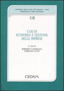 Libro Casi di economia e gestione delle imprese
