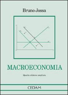 Macroeconomia - Bruno Jossa - copertina