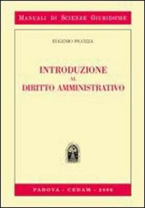 Libro Introduzione al diritto amministrativo Eugenio Picozza