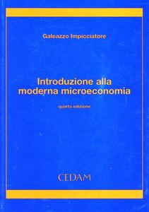 Libro Introduzione alla moderna microeconomia Galeazzo Impicciatore