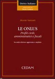 Libro Le onlus Alceste Santuari