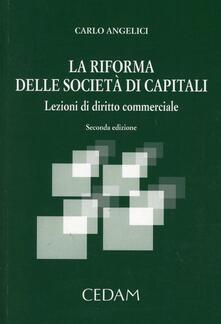 Squillogame.it La riforma delle società di capitali. Lezioni di diritto commerciale Image