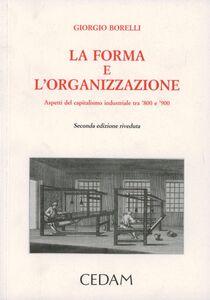 La forma e l'organizzazione. Aspetti del capitalismo industriale tra '800 e '900