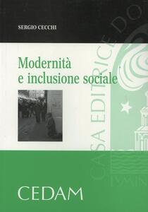 Modernità e inclusione sociale - Sergio Cecchi - copertina