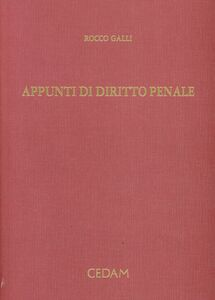 Appunti di diritto penale