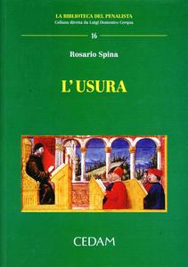 Libro L' usura Rosario Spina