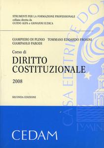 Libro Corso di diritto costituzionale