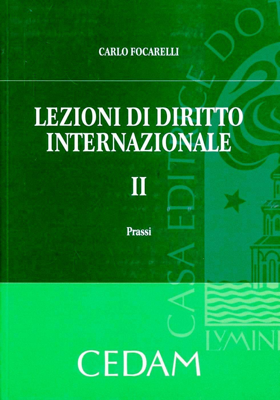 Lezioni di diritto internazionale. Vol. 2: Prassi.