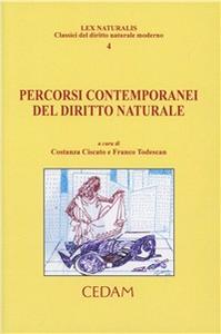 Libro Percorsi contemporanei del diritto naturale