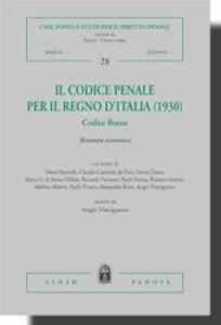 Libro Il codice penale per il Regno d'Italia (1930). Codice Rocco