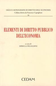 Libro Elementi di diritto pubblico dell'economia