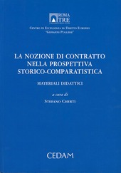 La nozione di contratto nella prospettiva storico-comparitivistica