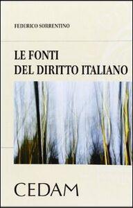 Le fonti del diritto italiano