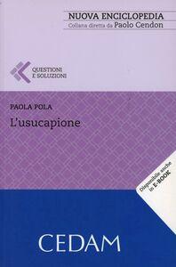 Libro L' usucapione Paola Pola