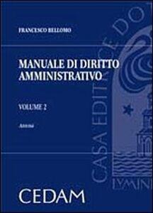 Manuale di diritto amministrativo. Vol. 2: Attività.