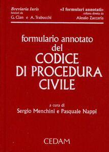 Libro Formulario annotato del codice di procedura civile. Con CD-ROM