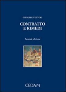Libro Contratto e rimedi Giuseppe Vettori