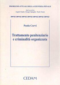 Trattamento penitenziario e criminalità organizzata. Problemi attuali della giustizia penale
