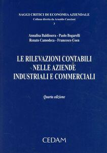 Libro Le rilevazioni contabili nelle aziende industriali e commerciali