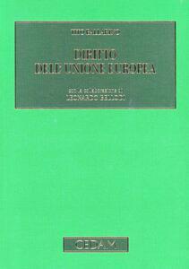 Diritto dell'Unione Europea - Tito Ballarino - copertina