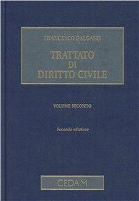 Trattato di diritto civile. Vol. 2