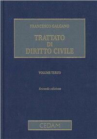 Trattato di diritto civile. Vol. 3