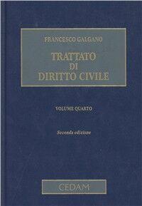 Trattato di diritto civile. Con CD-ROM. Vol. 4