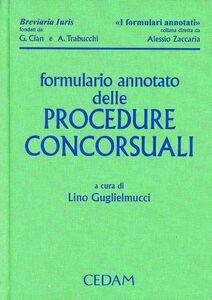 Libro Formulario annotato delle procedure concorsuali. Con CD-ROM