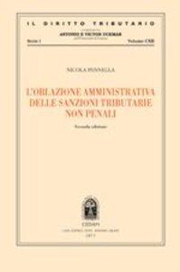 L' oblazione amministrativa delle sanzioni tributarie non penali