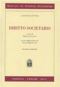 Libro Diritto societario Gastone Cottino