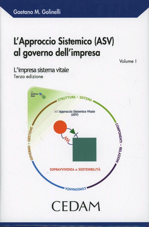 L' approccio sistematico (ASV) al governo dell'impresa. L'impresa sistema vitale
