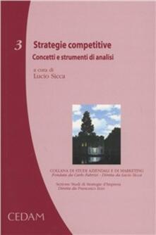 Milanospringparade.it Strategie competitive. Concetti e strumenti di analisi Image