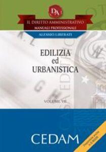 Libro Edilizia e urbanistica Alessio Liberati