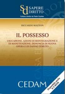 Libro Il possesso. Usucapione, azioni di reintegrazione e di manutenzione, denuncia di nuova opera e di danno temuto Riccardo Mazzon