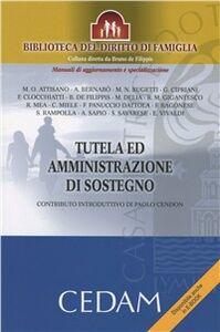 Foto Cover di Tutela ed amministrazione di sostegno, Libro di  edito da CEDAM