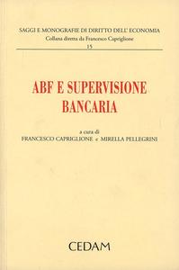 Libro ABF e supervisione bancaria