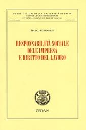 Responsabilità sociale dell'impresa e diritto del lavoro