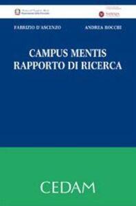 Campus mentis. Rapporto di ricerca