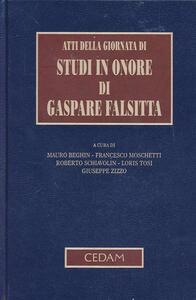 Atti della Giornata di studi in onore di Gaspare Falsitta