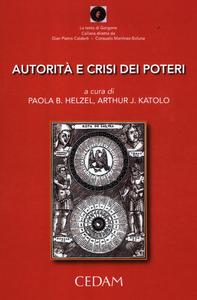 Libro Autorità e crisi dei poteri