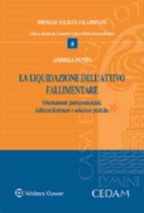 Libro La liquidazione dell'attivo fallimentare Andrea Penta