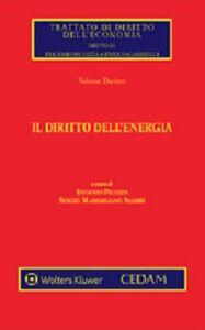 Foto Cover di Il diritto dell'energia, Libro di  edito da CEDAM