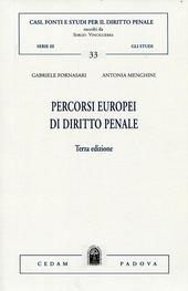 Percorsi europei di diritto penale