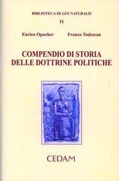 Compendio di storia delle dottrine politiche