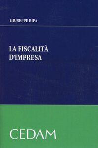 La fiscalità d'impresa