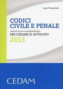 Radiospeed.it Codici civile e penale. Annotati con la giurisprudenza per l'esame di avvocato 2013 Image