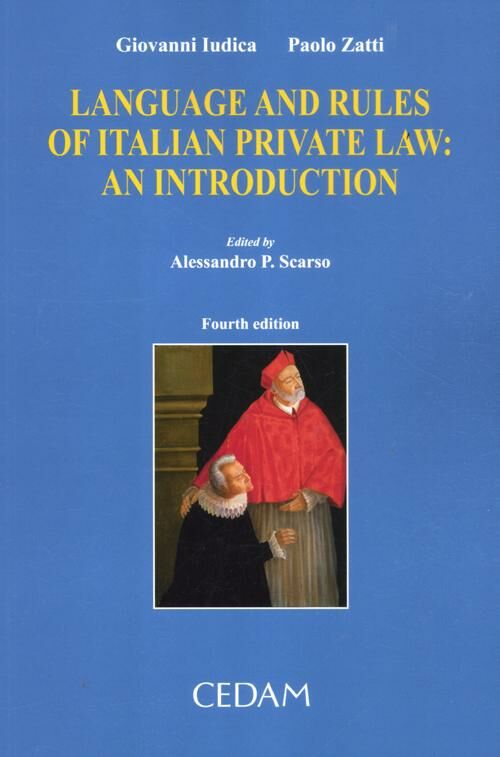 Language and rules of italian private law. An introduction
