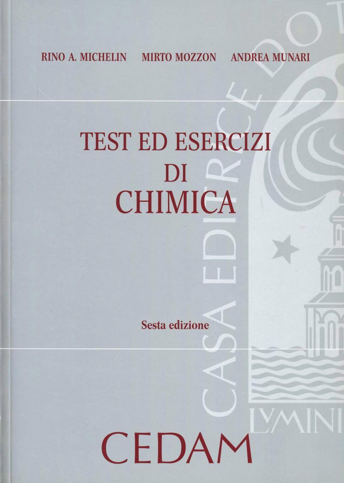 Test ed esercizi di chimica
